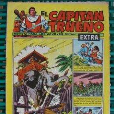 Tebeos: CAPITAN TRUENO. EXTRA Nº 63. BRUGUERA. ORIGINAL 1960. Lote 43035871