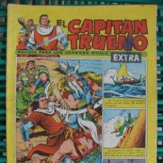 Tebeos: CAPITAN TRUENO. EXTRA Nº 11. BRUGUERA. ORIGINAL 1960. Lote 43036064
