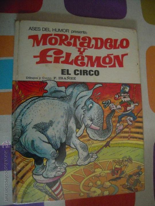 MORTADELO Y FILEMON ASES DEL HUMOR 27 EL CIRCO (Tebeos y Comics - Bruguera - Mortadelo)