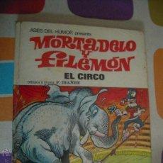 Tebeos: MORTADELO Y FILEMON ASES DEL HUMOR 27 EL CIRCO. Lote 43056457