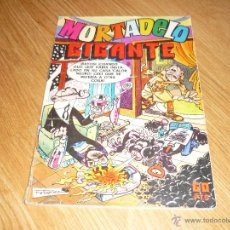 Tebeos: MORTADELO GIGANTE Nº 14 CON BOB MORANE. BRUGUERA 1977. 60 PTS. Lote 43063952