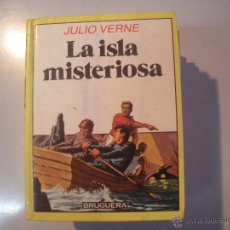 Tebeos: LIBRO DE JULIO VERNE - LA ISLA MISTERIOSA- BRUGUERA -. Lote 43064984