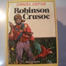 Tebeos: LIBRO DE DANIEL - DEFOE - ROBINSON - CRUSOE- BRUGUERA -. Lote 43064997