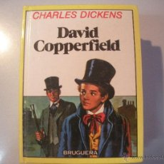 Tebeos: LIBRO DE CHARLES DICKENS - DAVID COPPERFIELD - BRUGUERA-. Lote 43065001