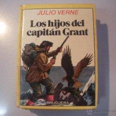 Tebeos: LIBRO DE - JULIO VERNE - LOS HIJOS DEL CAPITAN GRANT -BRUGUERA-. Lote 43065002