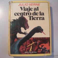Tebeos: LIBRO DE JULIO VERNE - VIAJE AL CENTRO DE LA TIERRA - BRUGUERA -. Lote 43065004