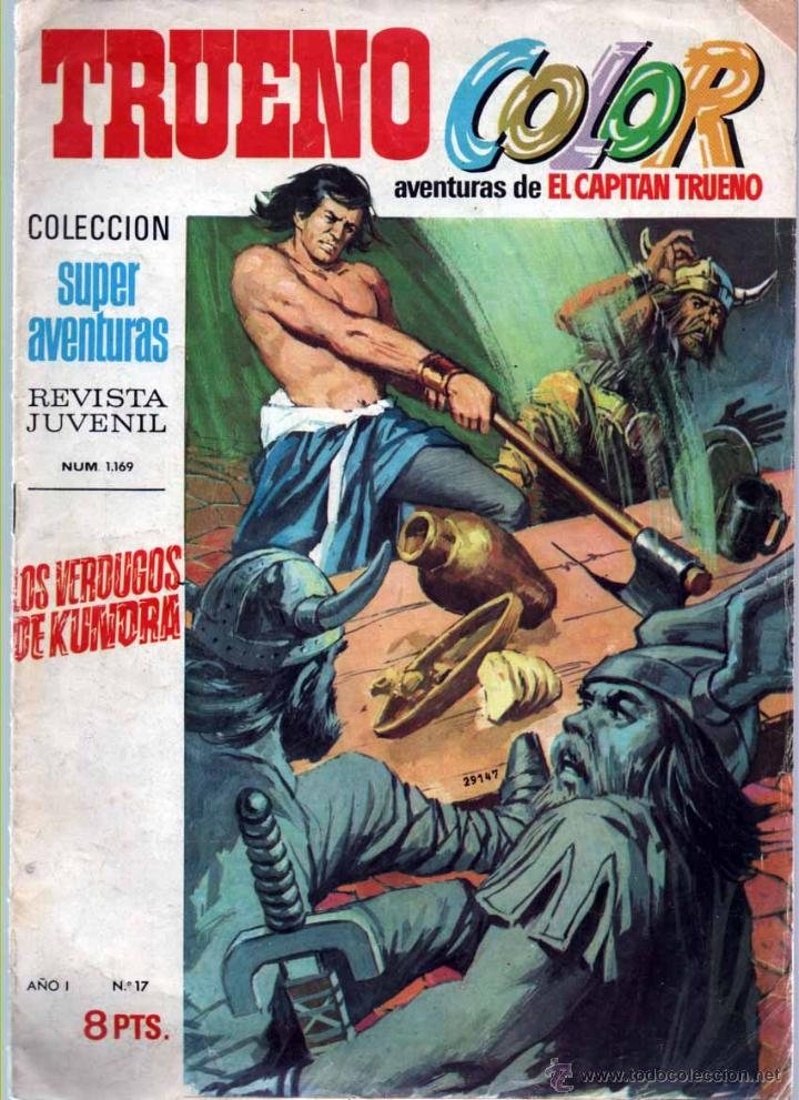 TRUENO COLOR Nº 17 1ª EPOCA. (Tebeos y Comics - Bruguera - Capitán Trueno)