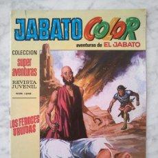 Tebeos: JABATO COLOR - Nº 31 - SUPERAVENTURAS - Nº 1242 - ED. BRUGUERA - 1970 (CON DON FURCIO BUSCABOLLOS). Lote 279507653