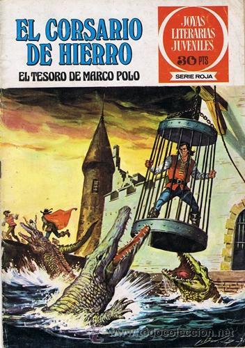 COMIC EL CORSARIO DE HIERRO N.6 EL TESORO DE MARCO POLO (Tebeos y Comics - Bruguera - Corsario de Hierro)