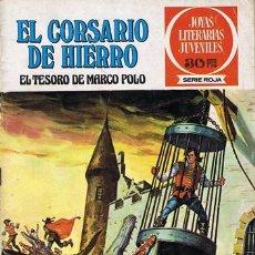 Tebeos: COMIC EL CORSARIO DE HIERRO N.6 EL TESORO DE MARCO POLO. Lote 43114037