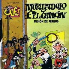 Tebeos: COMIC MORTADELO Y FILEMÓN N.51 MISIÓN DE PERROS. Lote 43114633