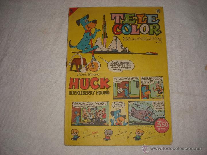 TELE COLOR Nº 38 (Tebeos y Comics - Bruguera - Tele Color)