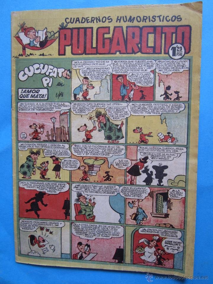 PULGARCITO 140 CON INSPECTOR DAN , ZIPI- ZAPE , CUCUFATO . CANUTO - ETC - BRUGUERA (Tebeos y Comics - Bruguera - Pulgarcito)