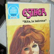 Tebeos: TEBEOS-COMICS CANDY - ESTHER Y SU MUNDO 85 - BRUGUERA - 1983 - 1ª ED - JOYAS AZUL *UU99. Lote 43211163