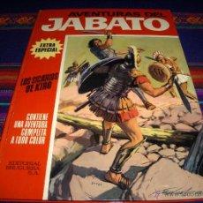 Tebeos: JABATO COLOR EXTRA ALBUM ROJO Nº 5. BRUGUERA 1970. LOS SICARIOS DE KIRO. DIFÍCIL!!!!. Lote 43414682