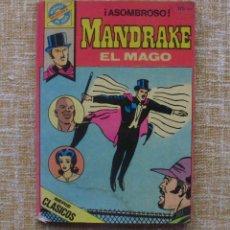 Tebeos: MANDRAKE EL MAGO COMIC, EDITORIAL BRUGUERA, POCKET DE ASES Nº 33, AÑO 1983, LEE FALKE, 161 PÁGINAS. Lote 43430435