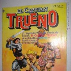 Tebeos: CAPITAN TRUENO. Nº3. HOMBRECITOS/PETRA CHERIE/ LOS MARCIANITOS...1986. MIDE:27,5 X 21,3 CMS. . Lote 43467010