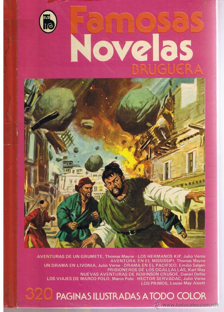 FAMOSAS NOVELAS. VOLUMEN XII. BRUGUERA 1982. (Tebeos y Comics - Bruguera - Otros)