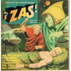 Tebeos: REVISTA DE AVENTURAS ¡ZAS!. NUMERO 4, BRUGUERA 1979. Lote 43490452