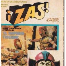 Tebeos: REVISTA DE AVENTURAS ¡ZAS!. NUMERO 7. BRUGUERA 1979. Lote 43490551