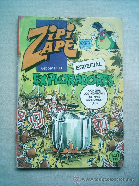 ZIPI ZAPE ESPECIAL Nº 148 BRUGUERA 1985 (Tebeos y Comics - Bruguera - Cuadernillos Varios)