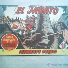 Tebeos: JABATO Nº 27 ORIGINAL BRUGUERA 1959 CENSURADO. Lote 43496324
