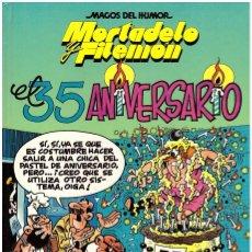 Tebeos: COMIC MORTADELO Y FILEMON: EL 35 ANIVERSARIO - MAGOS DEL HUMOR. Lote 43522057
