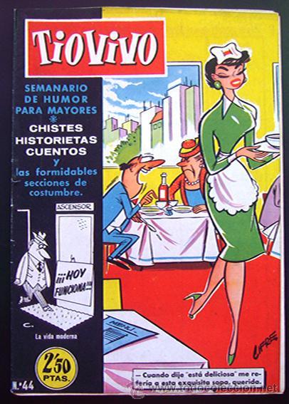 TEBEO-COMIC . TIO VIVO - 1ª EPOCA . Nº 44 (Tebeos y Comics - Bruguera - Tio Vivo)