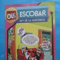 Tebeos: COLECCION OLE 297 - ESCOBAR , REY DE LA HISTORIETA PRIMERA EDICION 1985. Lote 43622731