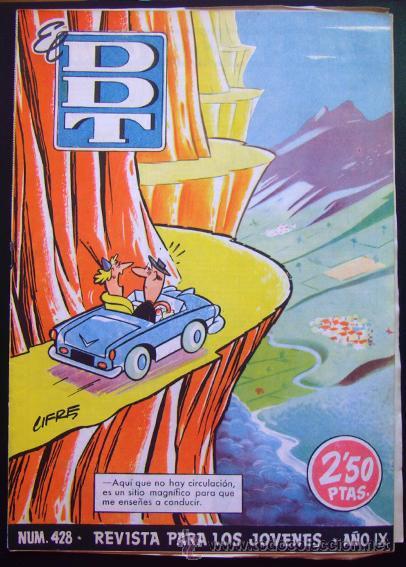 TEBEO-REVISTA EL DDT . PRIMERA ÉPOCA . Nº 428 (Tebeos y Comics - Bruguera - DDT)