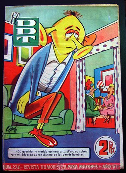 TEBEO-REVISTA EL DDT . PRIMERA ÉPOCA . Nº 236 (Tebeos y Comics - Bruguera - DDT)