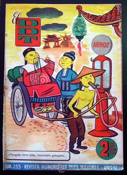 TEBEO-REVISTA EL DDT . PRIMERA ÉPOCA . Nº 233 (Tebeos y Comics - Bruguera - DDT)