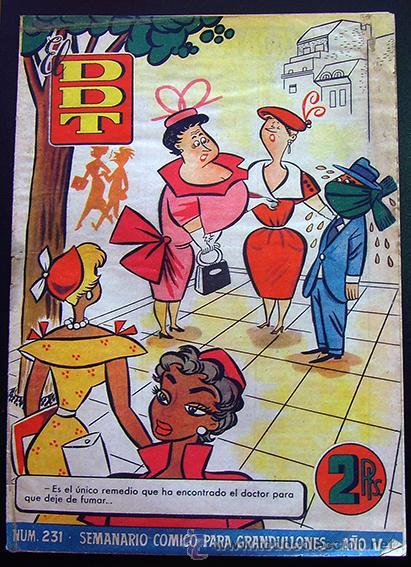 TEBEO-REVISTA EL DDT . PRIMERA ÉPOCA . Nº 231 (Tebeos y Comics - Bruguera - DDT)