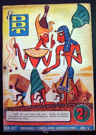 TEBEO-REVISTA EL DDT . PRIMERA ÉPOCA . Nº 227 (Tebeos y Comics - Bruguera - DDT)