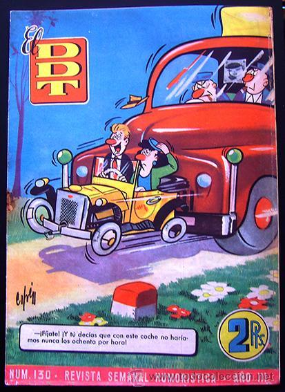 TEBEO-REVISTA EL DDT . PRIMERA ÉPOCA . Nº 130 (Tebeos y Comics - Bruguera - DDT)