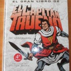 Tebeos: EL GRAN LIBRO DE EL CAPITAN TRUENO. 50º ANIVERSARIO. VICTOR MORA. Lote 53710905