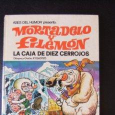 Tebeos: ASES DE HUMOR Nº 11 MORTADELO Y FILEMON LA CAJA DE LOS DIEZ CERROJOS. Lote 43719040