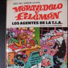 Tebeos: ASES DE HUMOR Nº 16 MORTADELO Y FILEMON LOS AGENTES DE LA T.I.A.. Lote 43719321