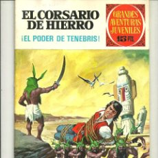 Tebeos: EL CORSARIO DE HIERRO. GRANDES AVENTURAS JUVENILES. Nº13. Lote 43731570