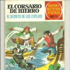 Tebeos: EL CORSARIO DE HIERRO. GRANDES AVENTURAS JUVENILES. Nº 9. Lote 43731646