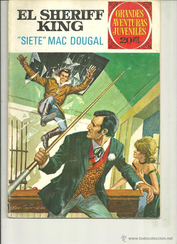 EL SHERIFF KING. GRANDES AVENTURAS JUVENILES. Nº 22 (Tebeos y Comics - Bruguera - Sheriff King)