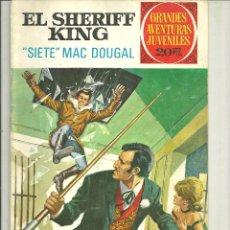 Tebeos: EL SHERIFF KING. GRANDES AVENTURAS JUVENILES. Nº 22. Lote 43731718