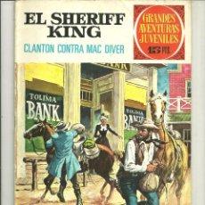 Tebeos: EL SHERIFF KING. GRANDES AVENTURAS JUVENILES. Nº 14. Lote 43731724