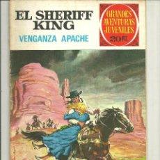 Tebeos: EL SHERIFF KING. GRANDES AVENTURAS JUVENILES. Nº 12. Lote 43731741