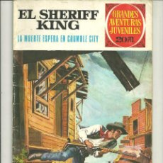 Tebeos: EL SHERIFF KING. GRANDES AVENTURAS JUVENILES. Nº 16. Lote 43731794
