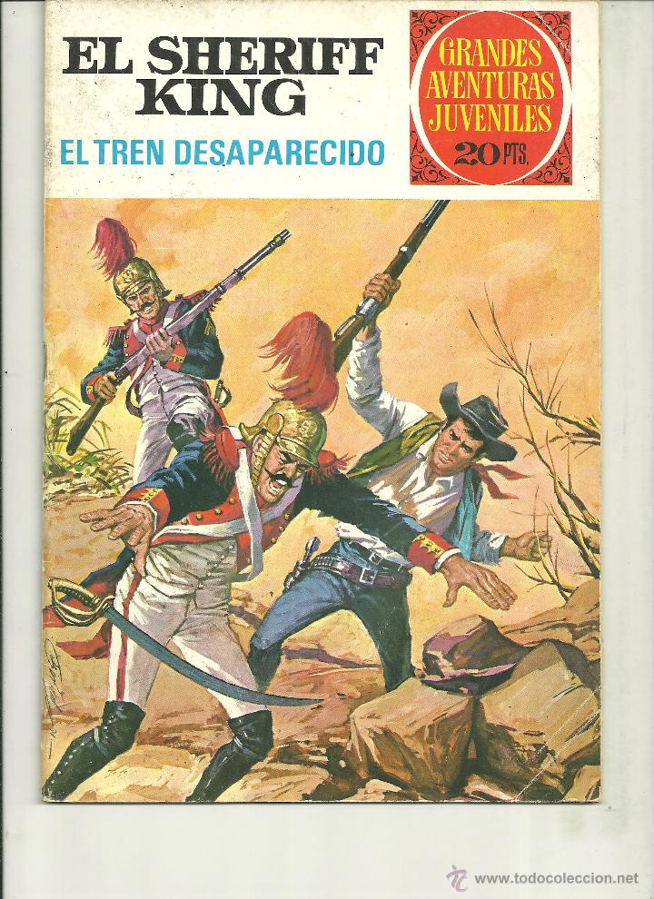 EL SHERIFF KING. GRANDES AVENTURAS JUVENILES. Nº 6 (Tebeos y Comics - Bruguera - Sheriff King)