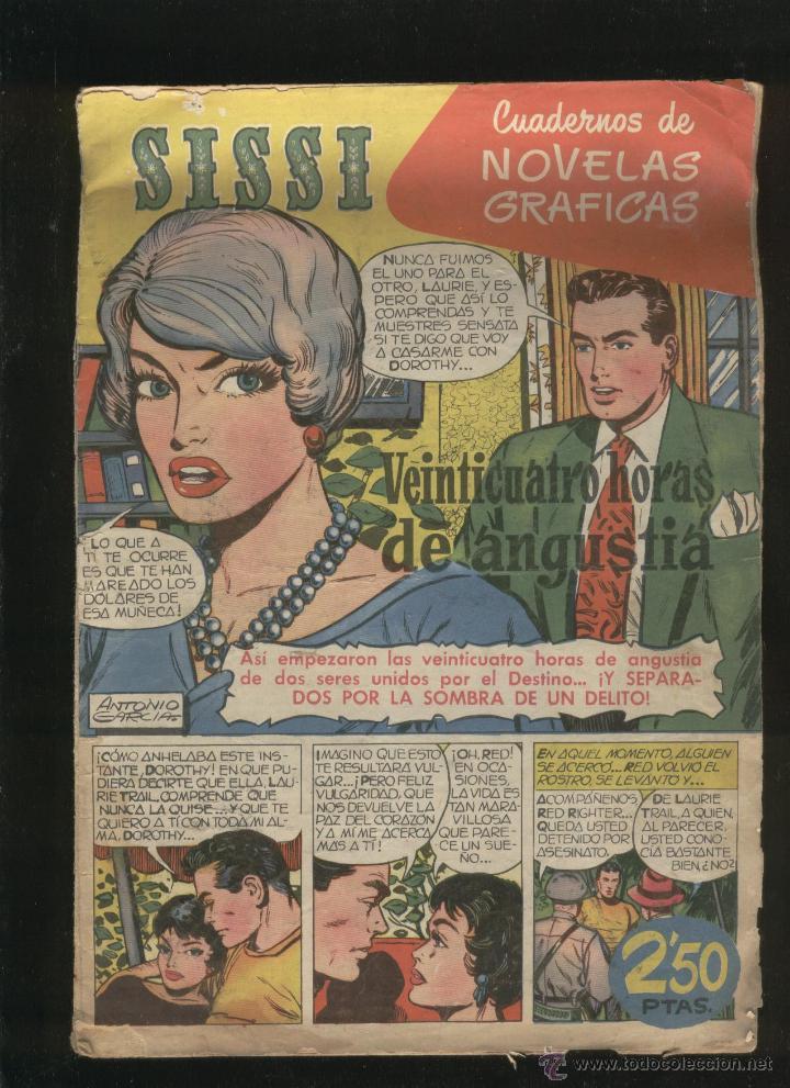 Tebeos: Lote de 7 revistas antiguas Sissi Editorial Bruguera. 1959. Comic. Ver fotos - Foto 2 - 43742337