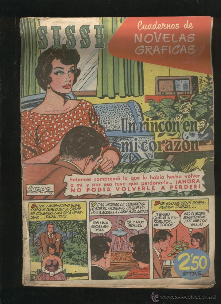 Tebeos: Lote de 7 revistas antiguas Sissi Editorial Bruguera. 1959. Comic. Ver fotos - Foto 3 - 43742337