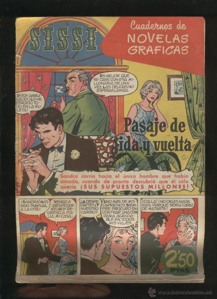 Tebeos: Lote de 7 revistas antiguas Sissi Editorial Bruguera. 1959. Comic. Ver fotos - Foto 4 - 43742337