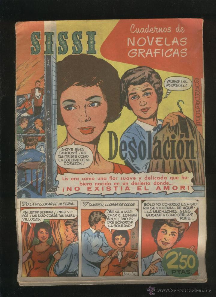 Tebeos: Lote de 7 revistas antiguas Sissi Editorial Bruguera. 1959. Comic. Ver fotos - Foto 5 - 43742337